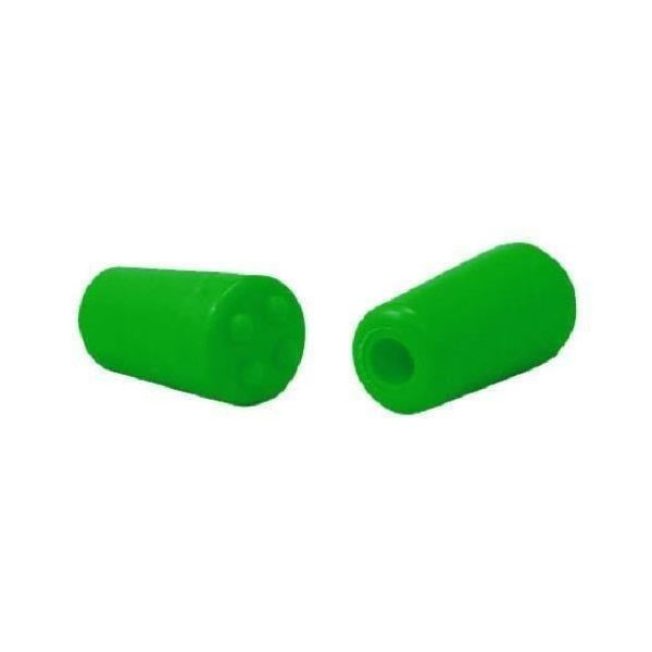 BowJax Flo Green 4-Dot stopper for 3/8in rod