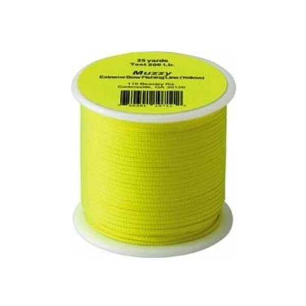Muzzy Bright Yellow Extreme Bowfishing Line 200# (75 ft)