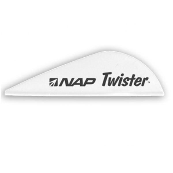 NAP TWISTER 2in. VANE - WHITE (36 PACK)