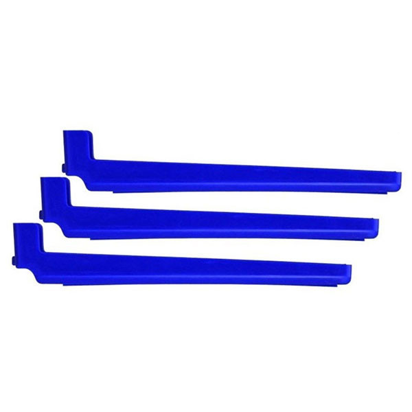 Bohning Blue RW Feather Tower Arms 3pk