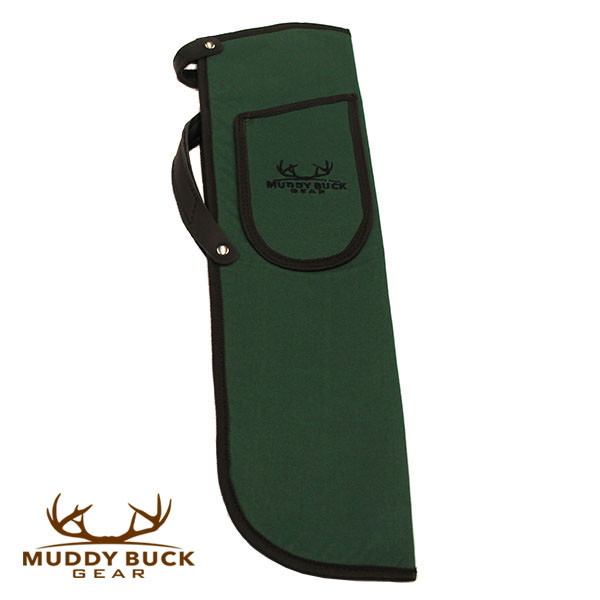 Muddy Buck Gear Codura Side Quiver w/ Belt Clip Hunter Green