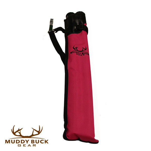 Muddy Buck Gear 2 Tube Mohican Quiver Hot Pink