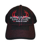 Bowhunters Supply Team Hat Red