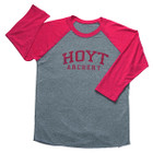 Hoyt Mens Baseball Tee Long Sleeve 3X