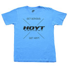 Hoyt Mens Heather Blue Tee Medium