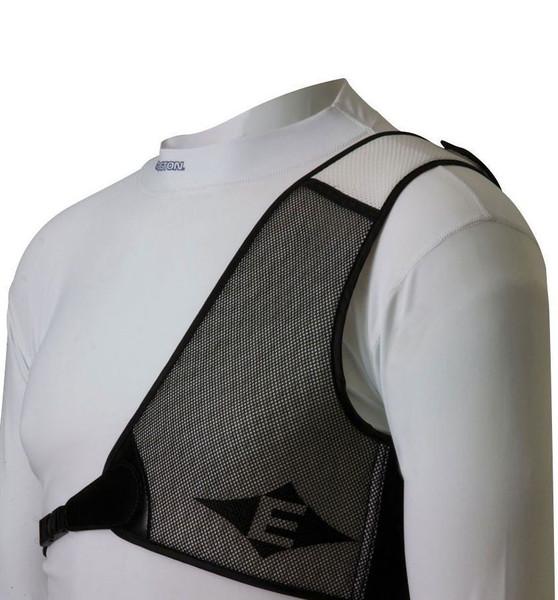 Easton Diamond Chest Guard LH White/Black Medium