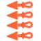 Outdoor Prostaff orange arrow string bling 4 Pk