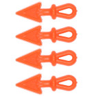 Outdoor Prostaff orange arrow string bling 4 Pk