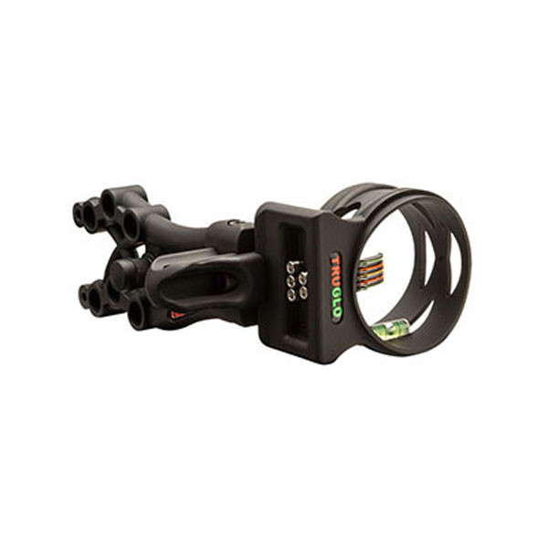 TruGlo CARBON XS XTREME 5 pin .019 Black