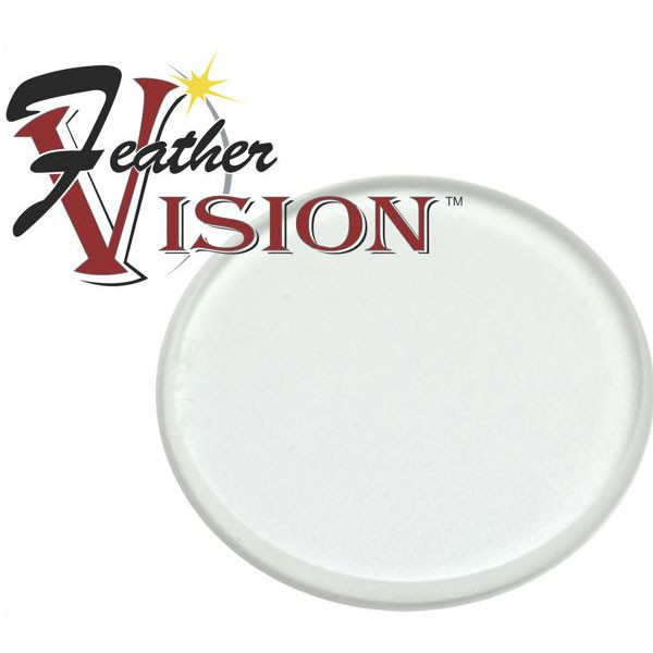 Feather Vision Verde 2x 1 3/8 Lens - Clear