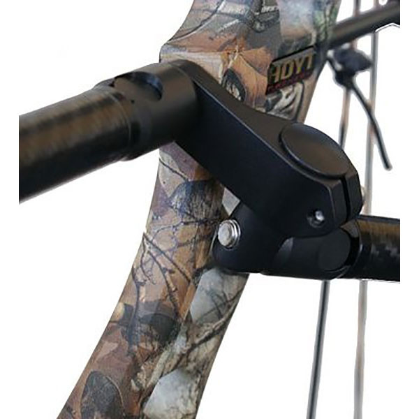 BOWFINGER BARK BUSTER SIDE MOUNT with QUICK DISCONNECT