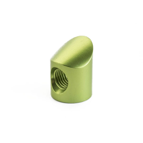 Shrewd V-Bar Colored Barrel Nut 20 Degree Lime Green