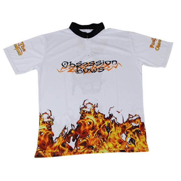 Obsession Flame Jersey - White - Small
