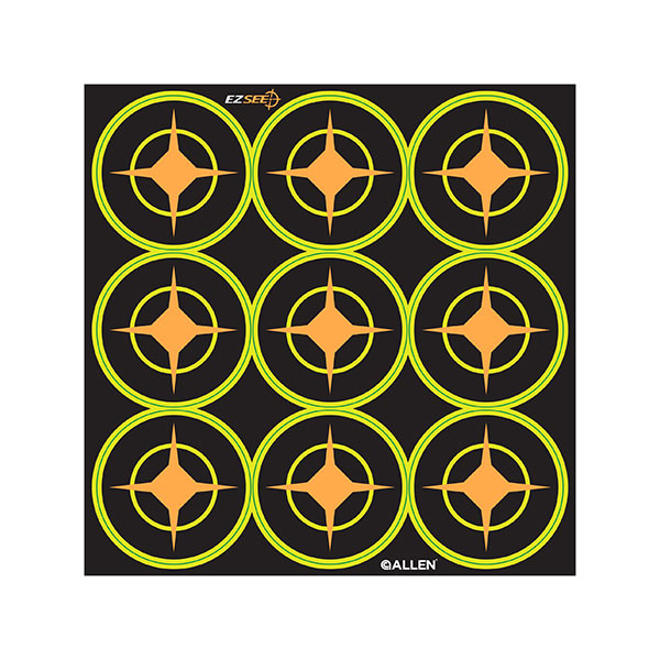 Allen Company EZ See Adhesive Aiming Dots 12 sheets - 15252