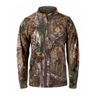 ScentLok Savanna Attack 1/4 Zip Shirt Realtree Xtra - 2XL