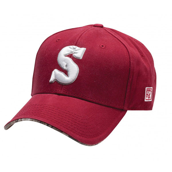 Summit Crimson and White Game Day Hat - SUH080