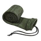 "Allen Company Knit Gun Sock 52"" Hot Green/Black - 168"