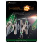 NOCKTURNAL HELIOS S LIGHTED GREEN 3 PACK
