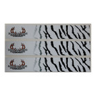Bowhunters Supply Store 1x7 White Tiger Reflective Wrap 12pk