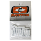Easton PlastiNock 11/32 Doz Bag White