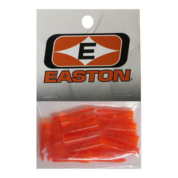 Easton PlastiNock 5/16 Doz Bag Flo Orange