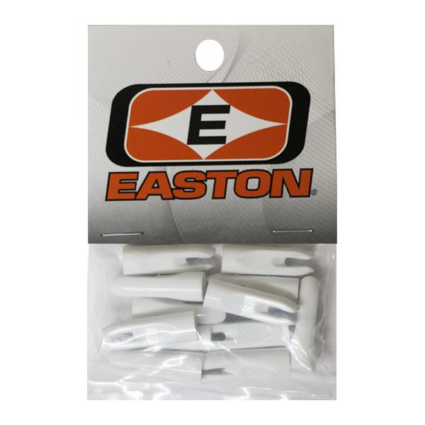 Easton PlastiNock 5/16 Doz Bag White