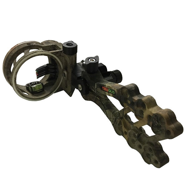 TruGlo Hyper Strike 5 Pin DDP Sight w/Light Realtree Xtra Camo