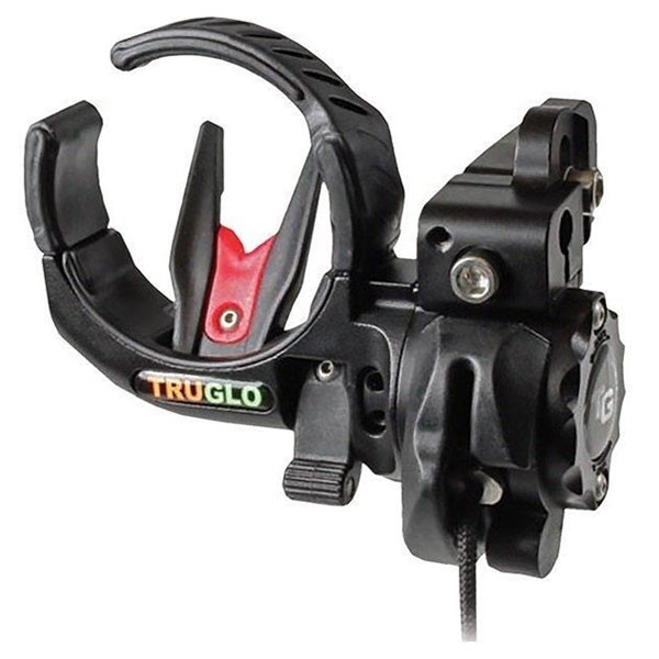 TruGlo Lock-Fire Arrow Rest Black - TG650B