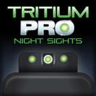 TruGlo Tritium Pro Glock Low Mos Set White - TG231G1MW