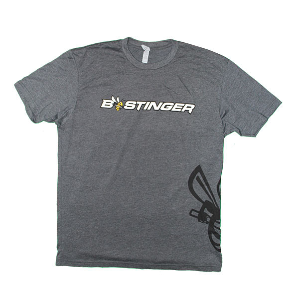 Bee Stinger Tee Shirt Grey - 2XL
