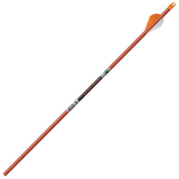 "Easton ARROW FMJ 6MM Orange 470 2"" Blazer Vanes Half-Dozen Pack (6)"