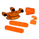 2016 Color Rubber Set with SHOCK MODZ?äó ORANGE - 01290OR
