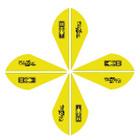 Bohning Blazer Vanes 2in. Neon Yellow 100 Pack
