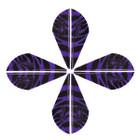 Bohning Blazer Tiger Vanes Purple 36 Pack