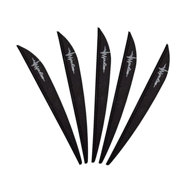 Bohning 3in Impulse Vane Black 100 Pack