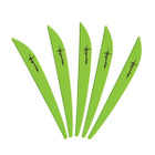 Bohning 4in Impulse Vane Lime 36 Pack