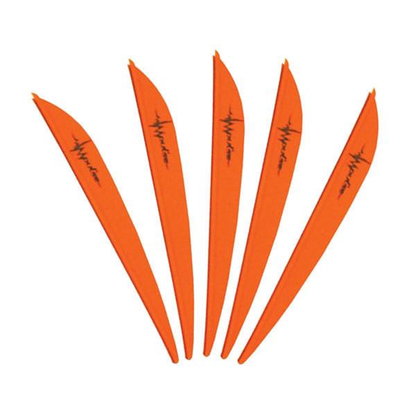 Bohning 4in Impulse Vane Neon Orange 36 Pack