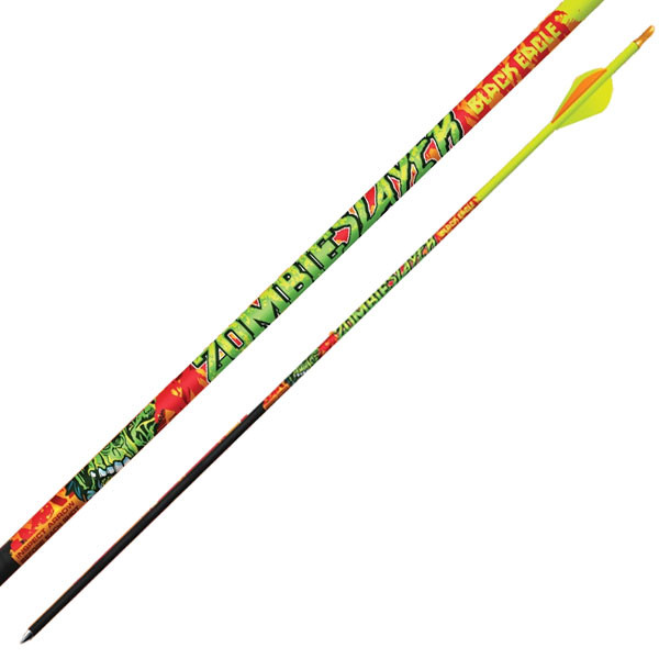 """Black Eagle Zombie Slayer Crested Arrows - .001"""" 6 Pack - 350"""