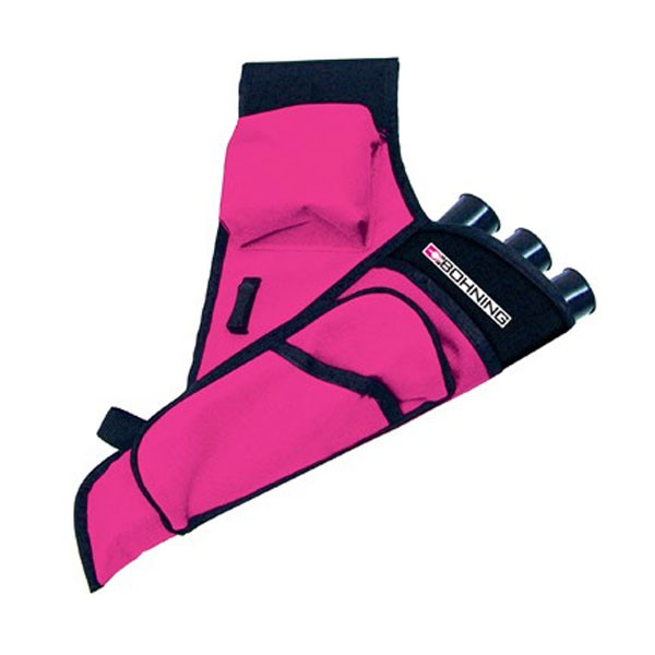 Bohning Mini Target Archery Arrow Quiver Hot Pink Right Hand