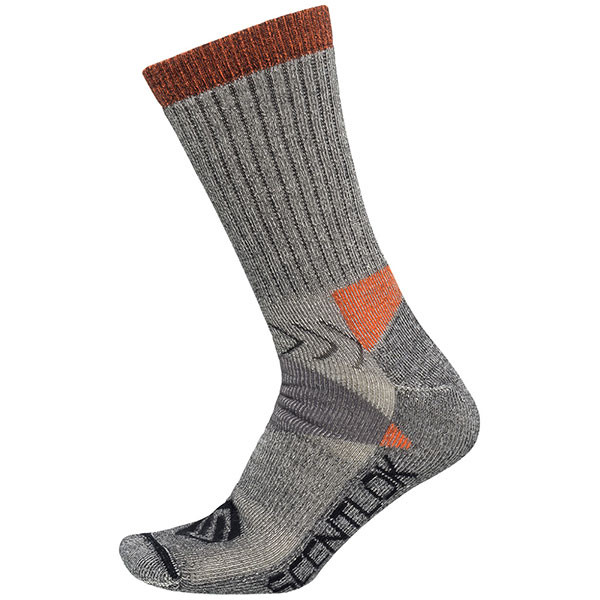 Scent Lok Hiker Crew Sock Grey XL - 89242-105XL