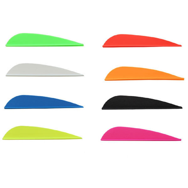 AAE Plastifletch Max Vanes (Bright Green) - 12 Pack