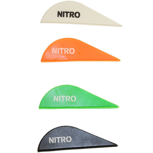 Pine Ridge Nitro 2.0 Vanes - 50 Pack (Black)