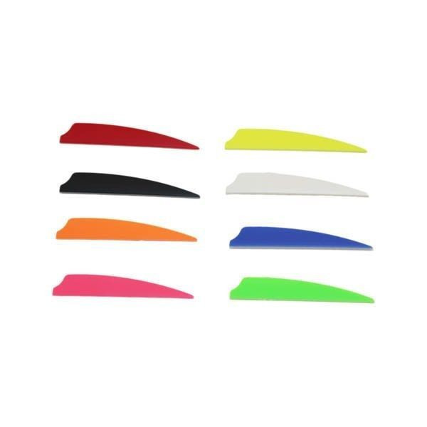 "Norway 3"" Fusion Vanes - 50 Pack (Blue)"