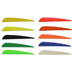 "Norway 4"" Duravanes - 50 Pack (Flo Yellow)"
