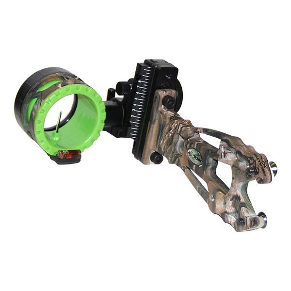 Axion Shift Single Pin Sight - Realtree w/Green Guard 1 Pin .019 RH
