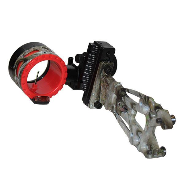 Axion Shift Single Pin Sight - Lost AT w/Red Guard 1 Pin .019 RH