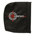 "Shrewd 4"" x 4"" Scope Cover - Black - SMSCBKD4"