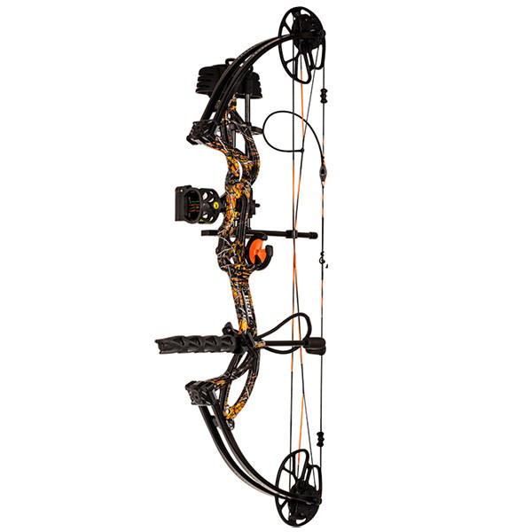 Bear Cruzer G2 (Ready to Hunt) Bow - Moonshine Wildfire (RH/70lb.)