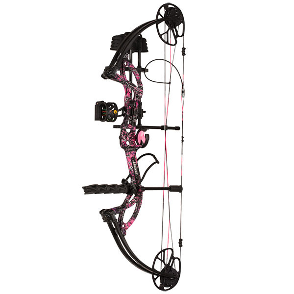 Bear Cruzer G2 (Ready to Hunt) Bow - Muddy Girl (RH/70lb.)