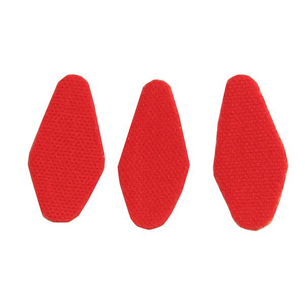 Ripcord Red Moleskin (3pk)